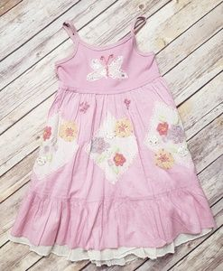 🐛Mimi & Maggie Primrose Pink Butterfly Dress 18M